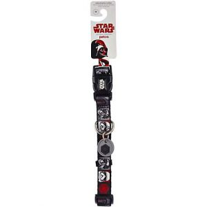 Star Wars Dark Side Adjustable Dog Collar, Large/X-Large
