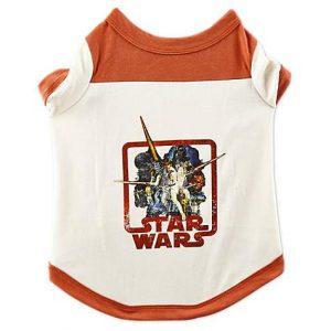Star Wars Vintage Dog T-Shirt, Extra Large