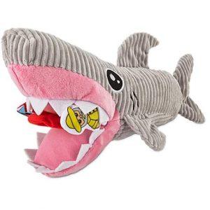 Leaps & Bounds Plush Puzzle Foraging Plush Shark Dog