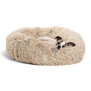 Shag Fuax Fur Donut Cuddler