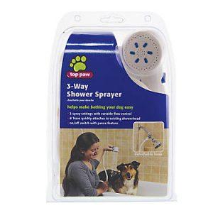 Top Paw® 3-Way Shower Pet Sprayer